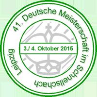 41. Deutsche Meisterschaft im Schnellschach 2015